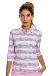 Nivo Blush Golf Long Sleeve Shirt - NI5210173