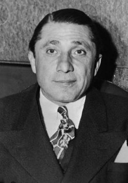 Frank Nitti was the front boss of the Chicago Outfit following Al Capone's incarceration.