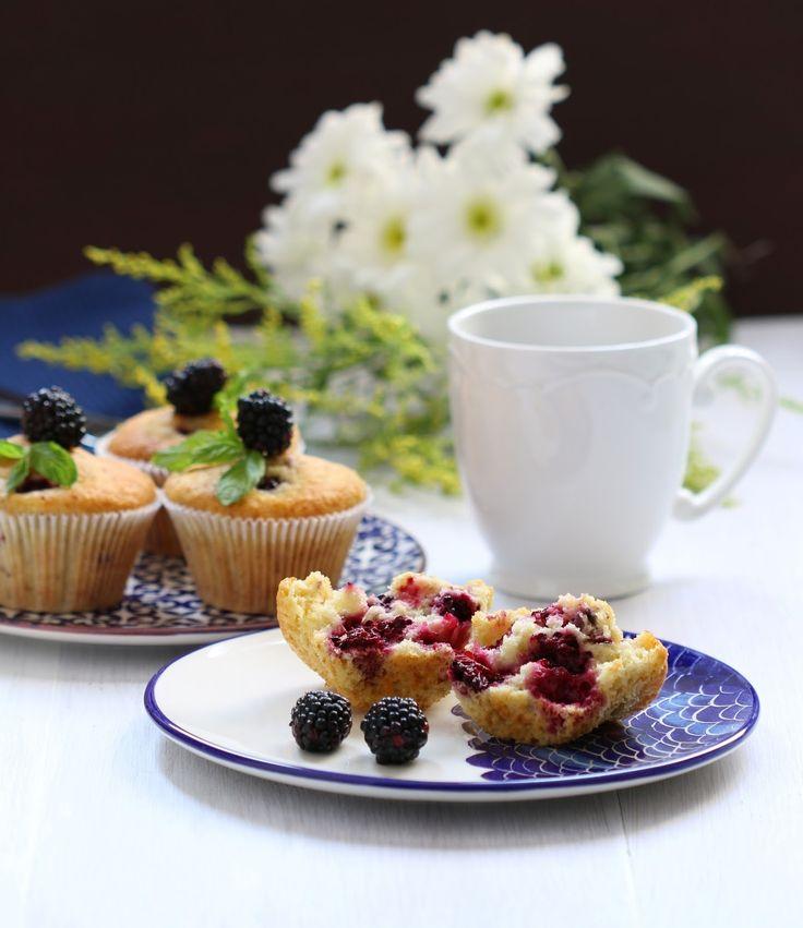 Pınar's Desserts: Böğürtlenli Muffin