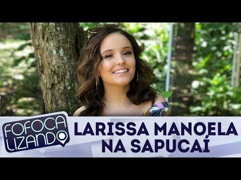 Larissa Manoela fala sobre carnaval no Rio de Janeiro | Fofocalizando (12/02/18) - YouTube