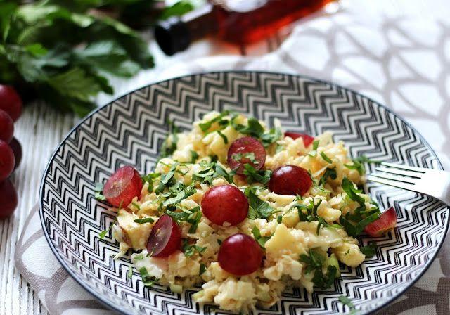 Zelný salát s jablky a hroznovým vínem | Cooking with Šůša
