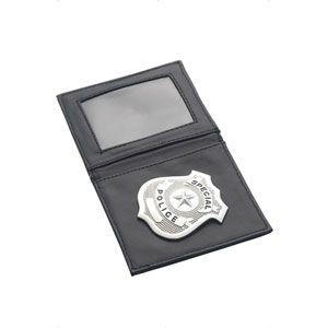 Silver Police Badge Wallet