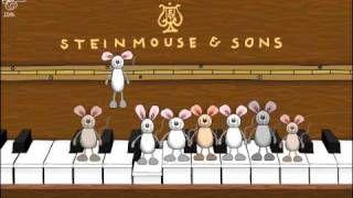 geburtstagsvideo mäuse hüpfen auf dem klavier - YouTube