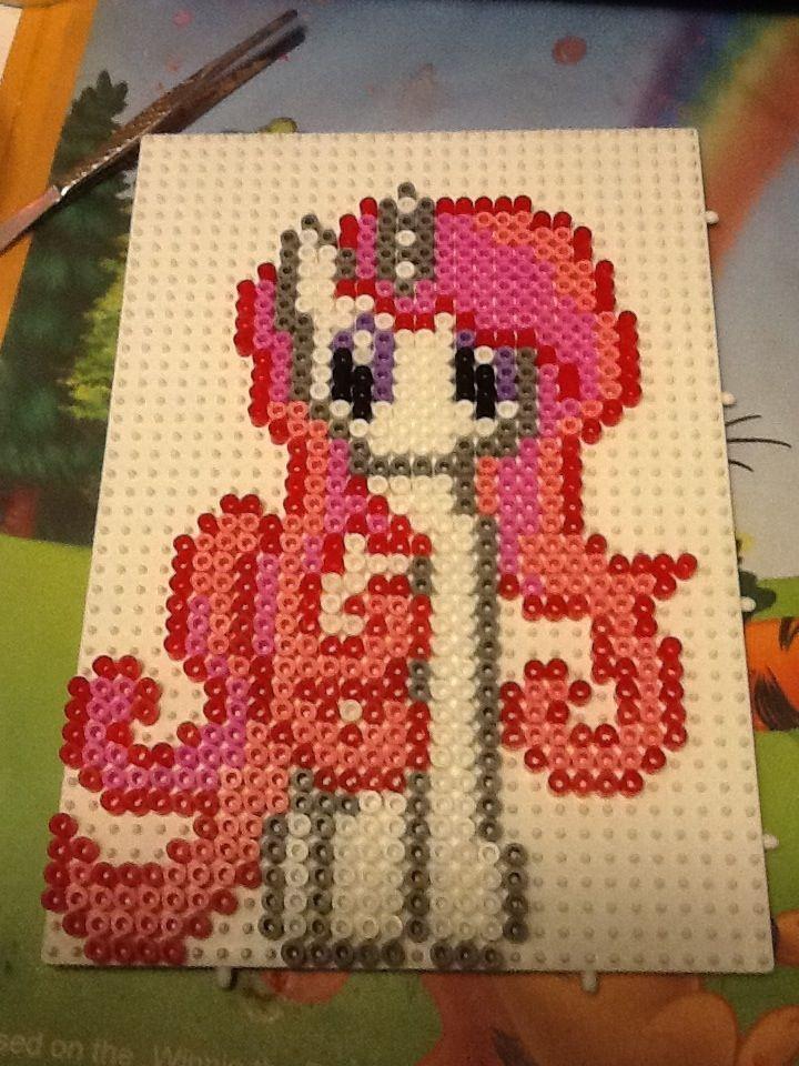 My Little Pony hama beads by Randi Frederiksen