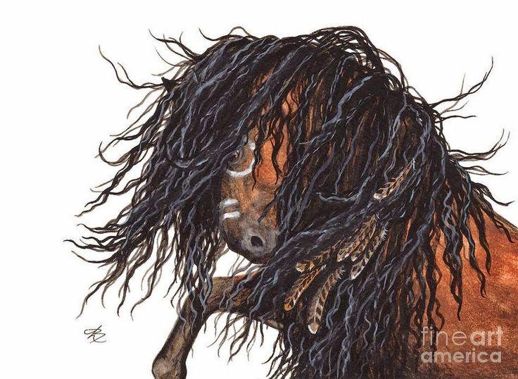 pinturas-de-caballos-con-pelo-largo