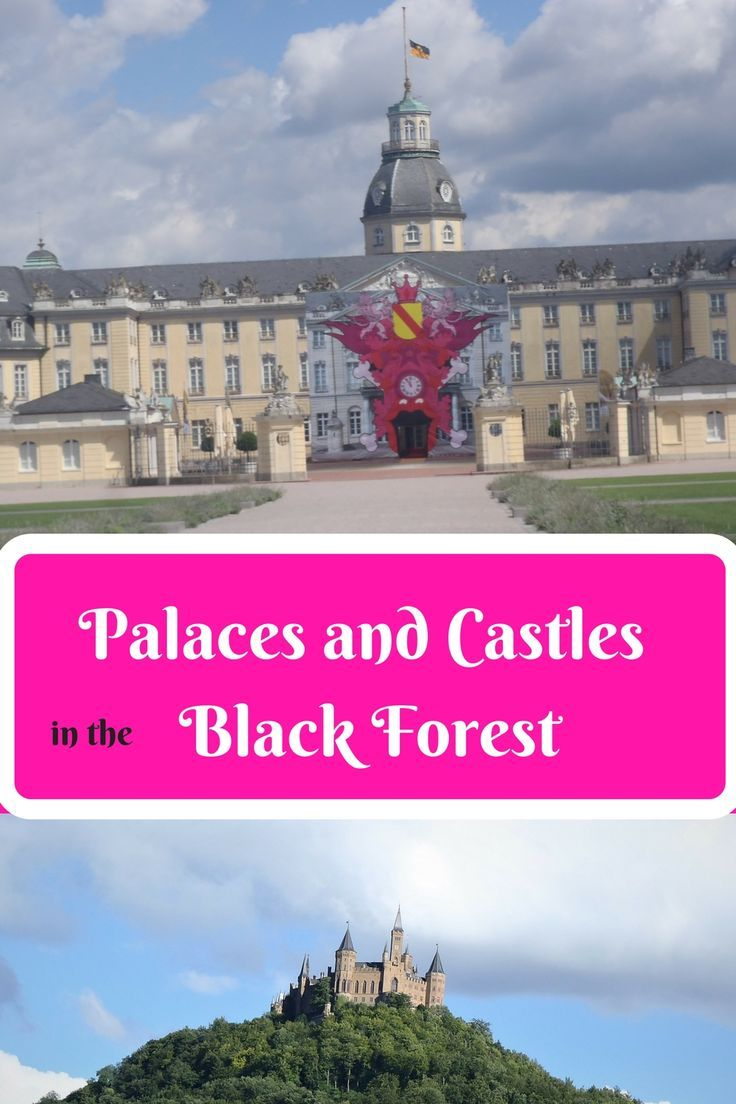 Three amazing places to visit while you are traveling through the Black Forest.  We started our journey from Landstuhl and drove down to Karlsruhe Germany.  This is a beautiful little town and they have the amazing Karlsruhe Palace.  What to do in the black forest, glass blowing, palaces, and Hohenzollern Castle.  http://www.thoughtsinthebreeze.com/2018/03/24/3-amazing-places-to-visit-in-the-black-forest/  #blackforest,  #karlsruhe, #castle, #palace, #glassblowing, #hohenzollern