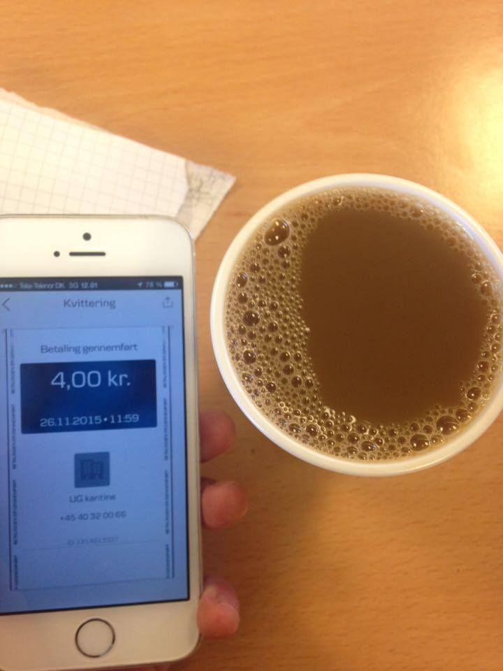 hvorfor koster kaffen 4 og ikke 3 kr