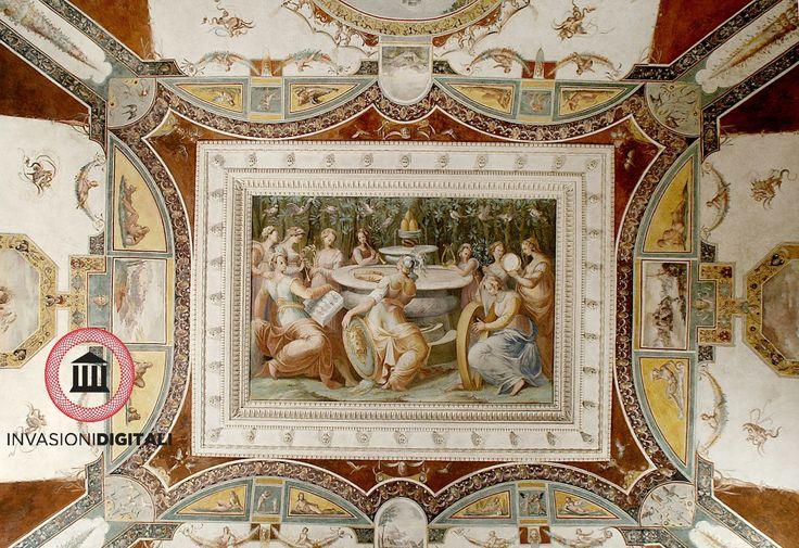 Sala del Concerto/ Sala delle Muse  - Palazzo della Corgna #invasionidigitali #invadiCdp