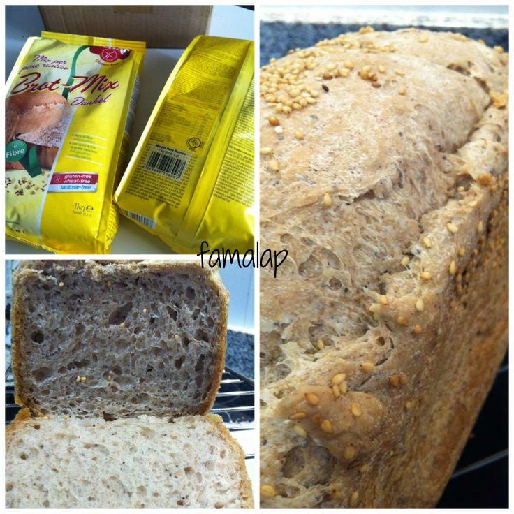 Cocina Fácil Sin Gluten: Pan de molde multicereales sin gluten, con sólo dos harinas