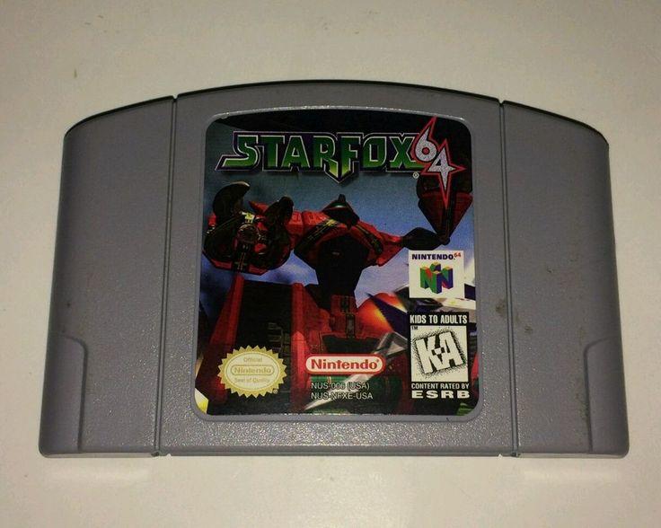 Star Fox 64 Nintendo 64 Game TESTED