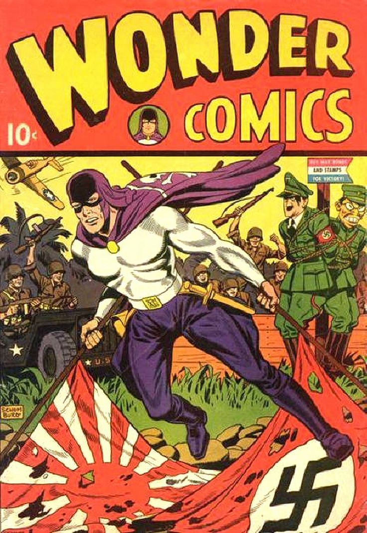 The initial comic-book character called Fighting Yank first appeared in Nedor Comics' Startling Comics #10 (September 1941), during the period fans and historians call the Golden Age of comic books. Description from snipview.com. I searched for this on bing.com/images