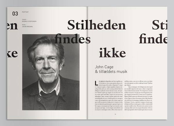 Magazine Layout Inspiration 34 GEIGER Magazine by Mads Thorsoe More
