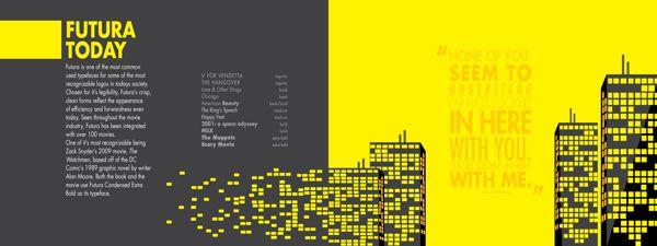 Futura Type Specimen Book On Behance Books