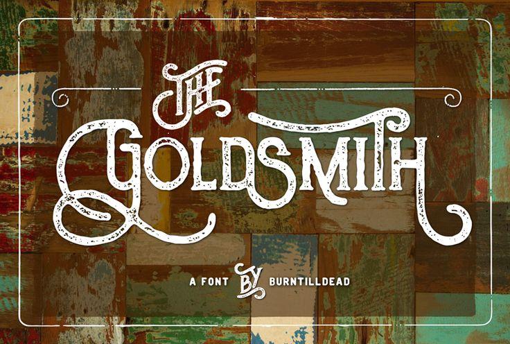 The Goldsmith Vintage | dafont.com