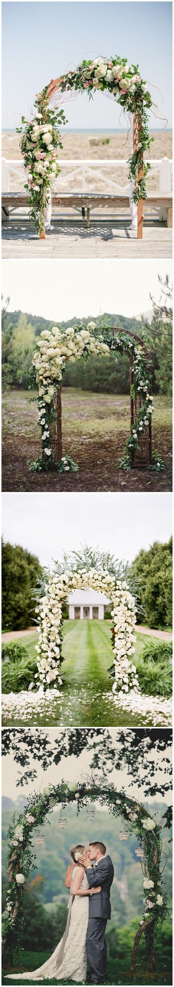 how to make a rustic wedding arch