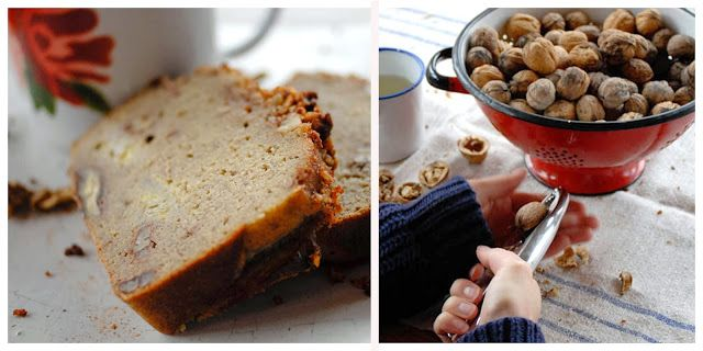 Gluten free banana bread with walnuts / Food From Flossie
