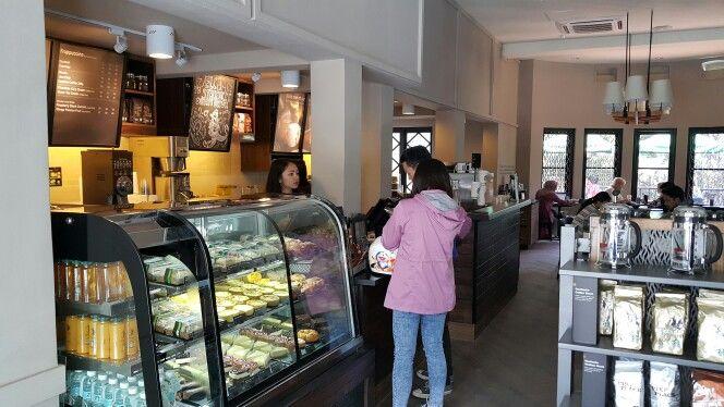 New Starbucks in Dipatiukur, Bandung. October 31st, 2015.