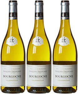 PASQUIER DESVIGNES France Burgundy Vin Bourgogne Chardonnay AOP 2014 75 cl – Lot de 3