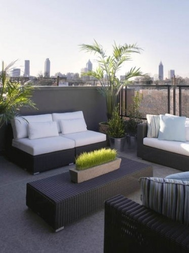 Die 42 Besten Bilder Zu Roof Top Terraces Auf Pinterest | Gärten ... Dachterrasse Im Ostasiatischen Stil