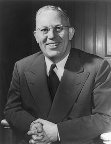 Earl Warren, Chief Justice of the US Supreme Court 50s and 60s