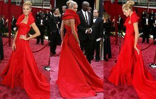 El vestido de los Oscars de Heidi Klum destinado a fines benéficos