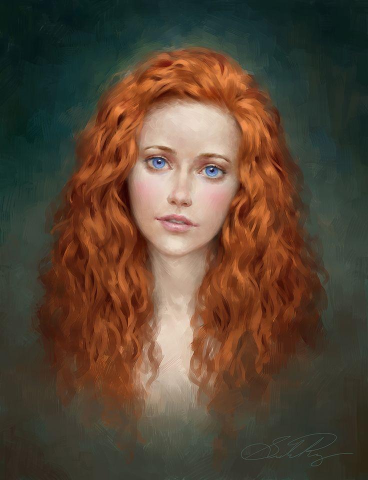 Mahiri Commission by Selenada.deviantart.com on @DeviantArt. Looks like Princess Syradonna (daughter of Hendry & Fayne).