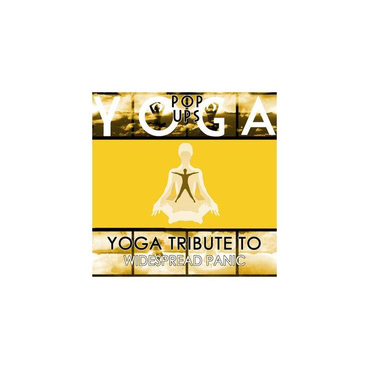 Yoga Pop Ups - Yoga to Widespread Panic (CD)