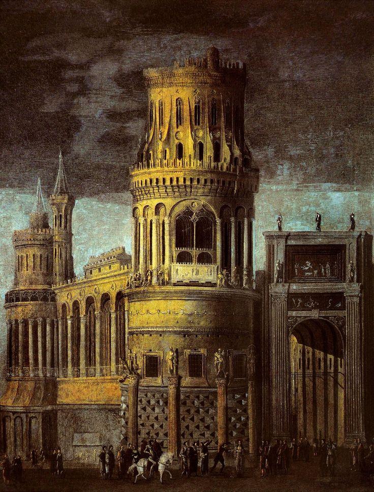 """"""" Monsu Desiderio - Martyrdom of St.Agatha. N.d. """""""