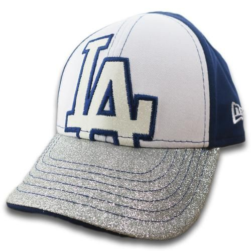 La Dodgers Kid Shimmer Cap Dodgers Baby Pinterest