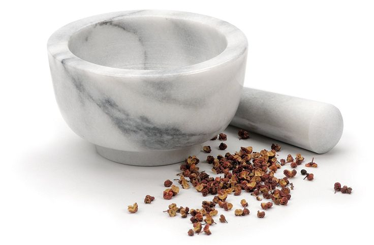 RSVP White Marble Mortar and Pestle. #marblemortar #marblepestle