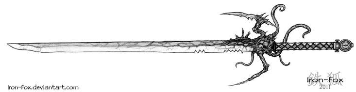 Las Plagas Sword by Iron-Fox.deviantart.com on @DeviantArt
