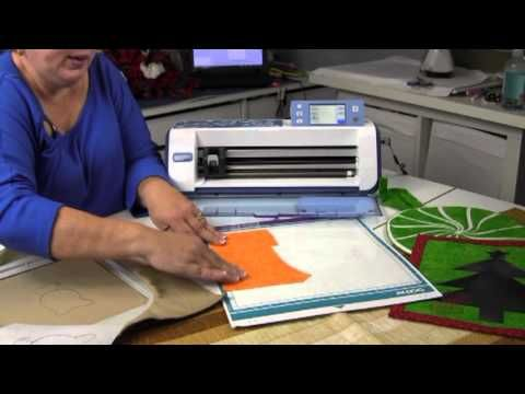 Scan & Cut Demo- how to transfer designs from Embroidery design to SNC to cut out the necessary fabric applique pieces exactly to the correct size