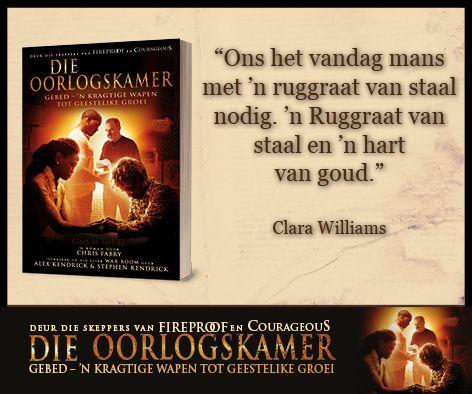 Clara Williams Quote uit Die Oorlogskamer #WarRoomSA