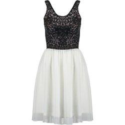 Even&Odd Sukienka koktajlowa black/white