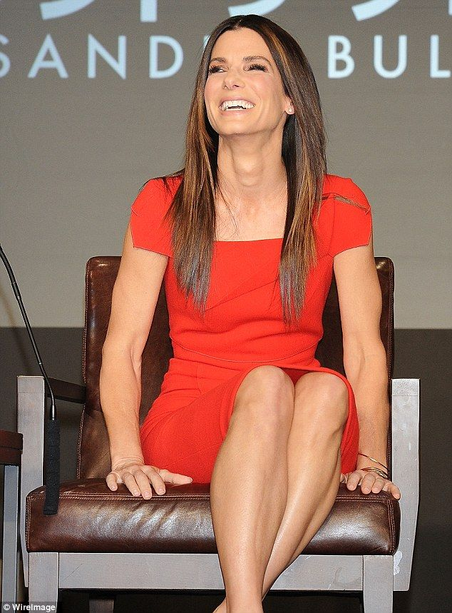 "Sandra Bullock at the press conference ""Gravity"" in Japan"