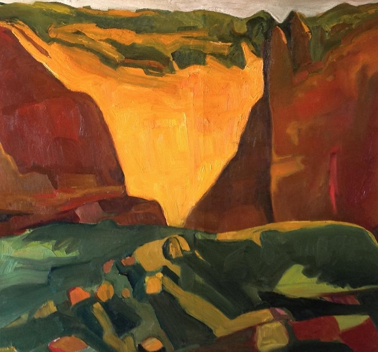 Chris easley red cliffs 2 new mexico paintings pinterest