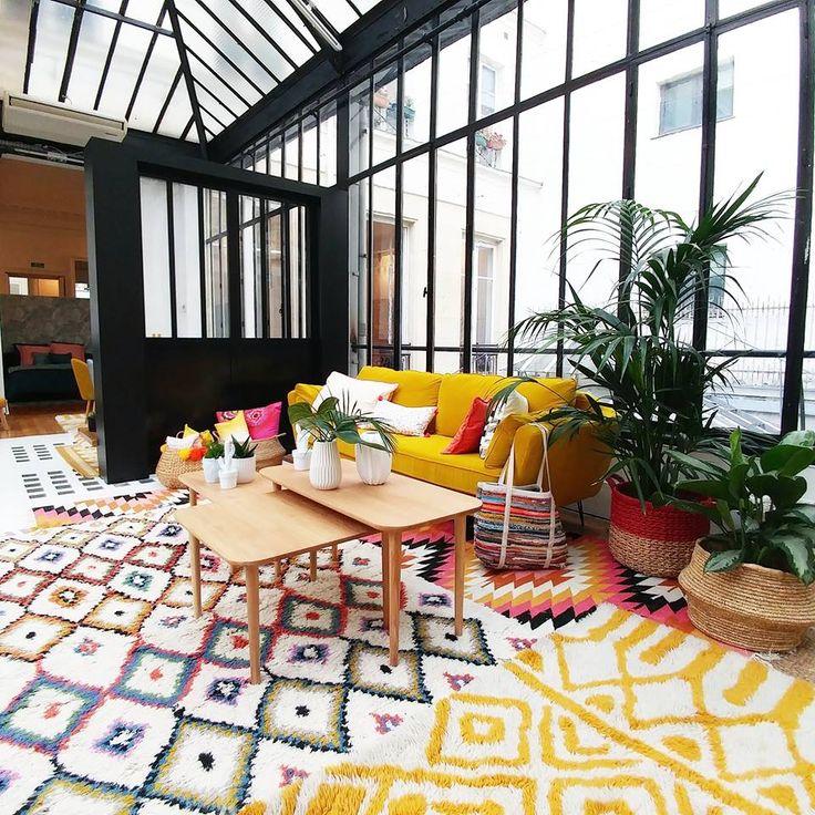 Style bohème avec les tapis berbere de La Redoute Intérieur !