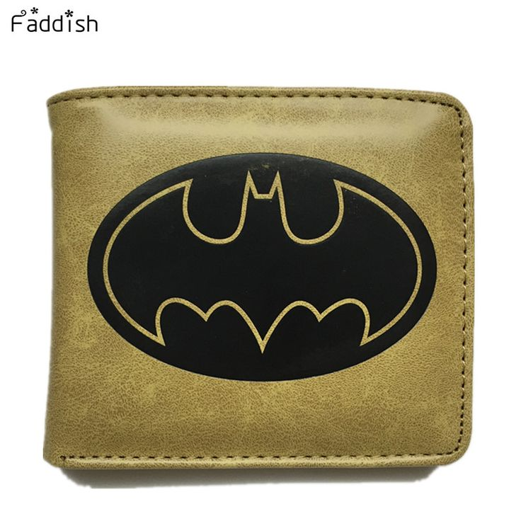 Batman Logo Wallets - free shipping worldwide