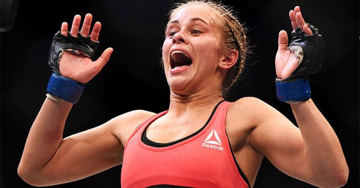 UFC strawweight Paige VanZant knows the comparisons to Ronda Rousey are out there, but her focus is squarely on her next fight against Joanne Calderwood as she looks to climb the ranks to challenge champion Joanna Jedrzejczyk.