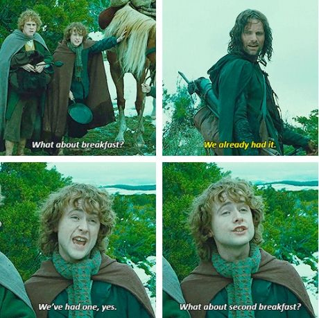 I kept saying this at dinner before I saw the Hobbit at the midnight premier