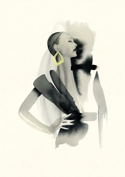 New Nordic Fashion Illustration - Cecilia Carlstedt