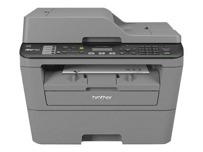 BROTHER MFC-L2700DW - MULTIFUNCTION PRINTER. A brand new Brother MFC-L2700DW - Multifunction printer - B/W - laser - Legal (8.5 in x 14 in) (original) - A4/Legal (media) - up to 27 ppm (copying) - up to 27 ppm (printing) - 250 sheets - 33.6 Kbps - USB 2.0, LAN, Wi-Fi(n) A great network-ready mono laser printer, scanner, copier and fax for the small or home office. Speed up to 26 ppm, 250 sheet paper tray and double-sided printing as standard. Includes 35 sheet automatic document...