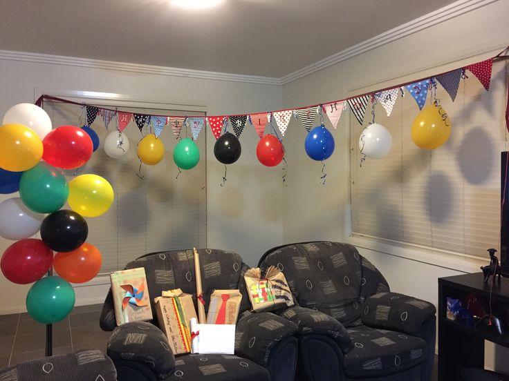 Little surprise idea for birthday.