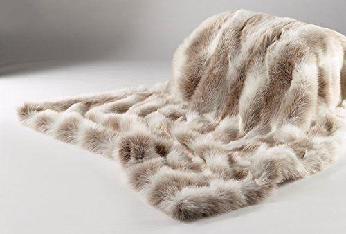 De Lujo de los animales de piel sintética de material de tela Brown /& White Wolf