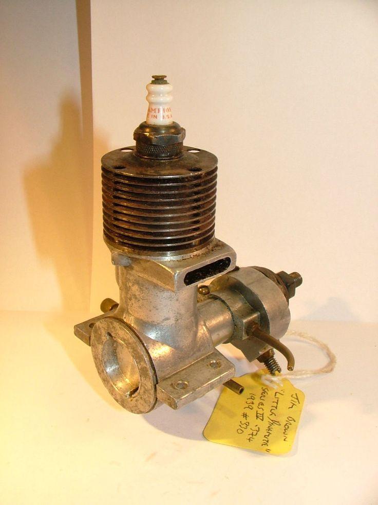 Little Dynamite vintage ignition model aircraft engine Jim Brown   eBay