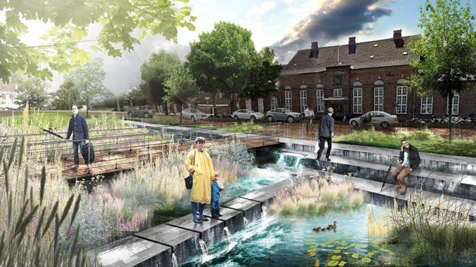 rainproof-URBANISTEN_project-Ringsted-06_station-square,-an-attractive-and-inviting-place