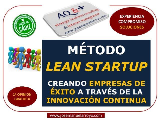 Método Lean Startup. Creando Empresas de Éxito a través de la Innovación Continua.