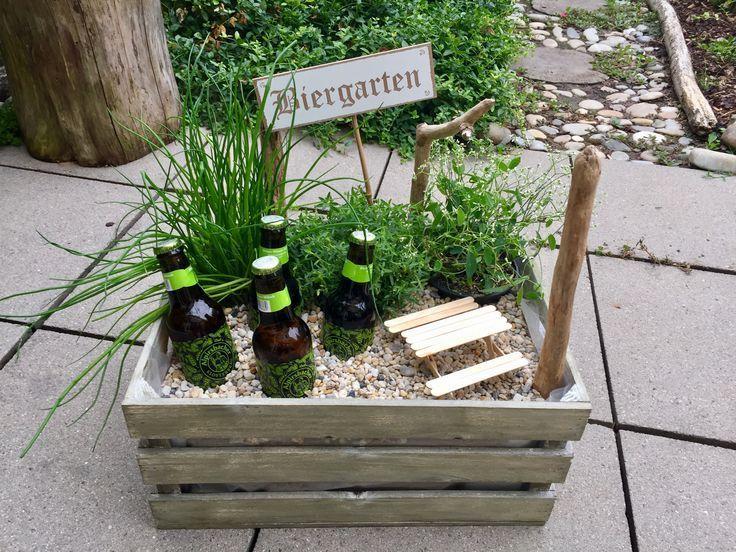 #Biergarten #Geschenk Ein tolles Geschenk und einf… – #Biergarten #ein #einf