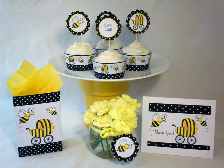 bumble bee decoration baby shower ideas pinterest