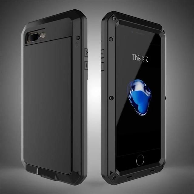 Heavy Duty Metal Case for iPhone and Samsung